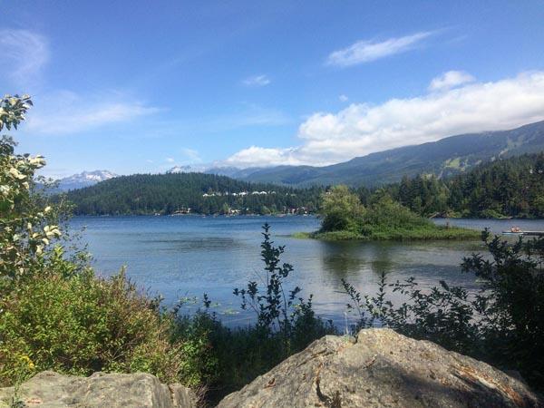 Alta Lake - de mooiste hikes in Whistler