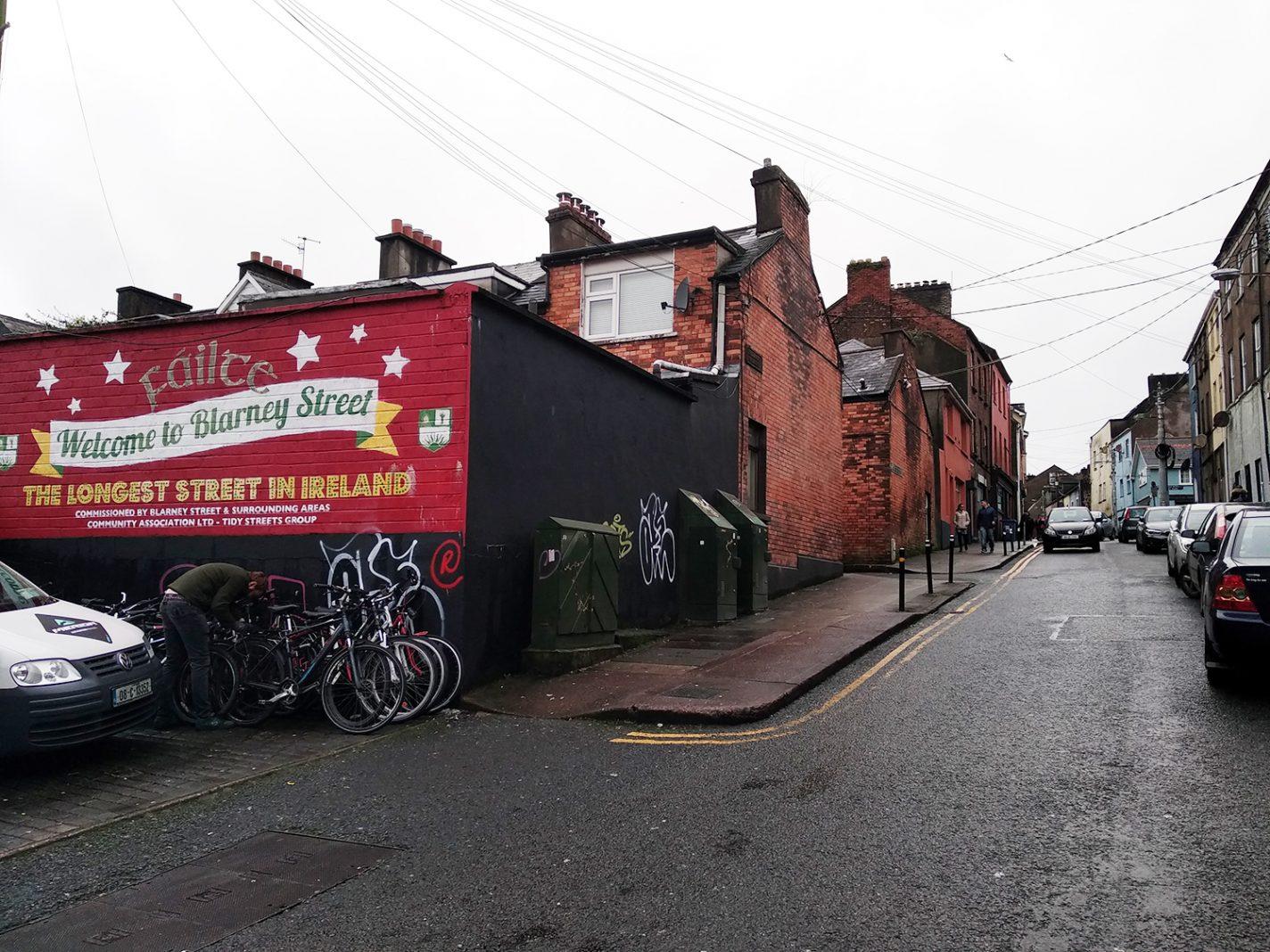 Blarney Street - de langste straat van Ierland - stedentrip Cork