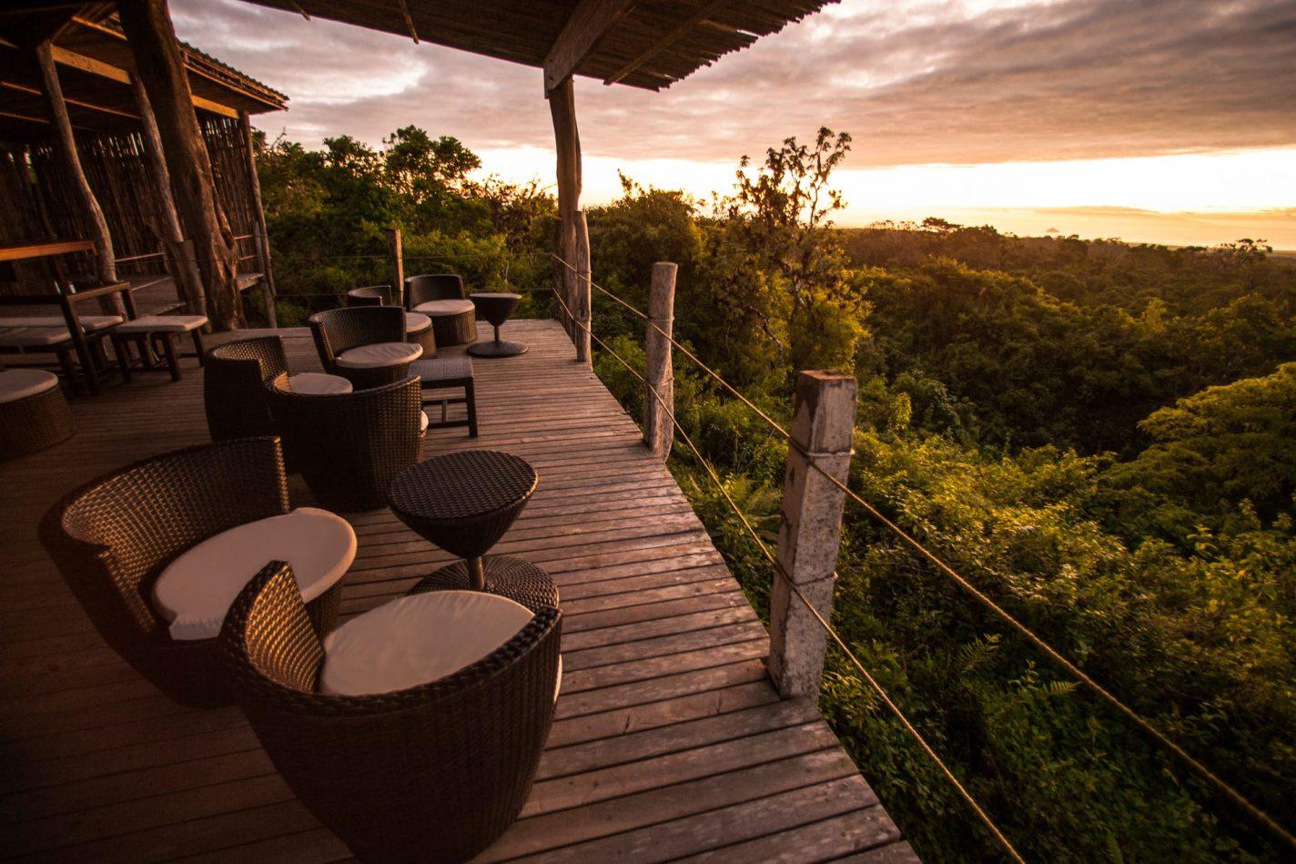 Zonsondergang Safari Camp - Wat te doen in Ecuador?