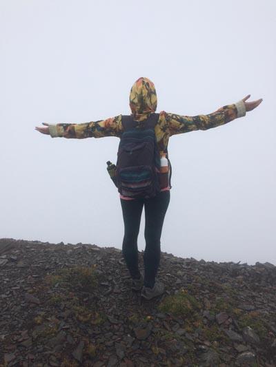 Panorama Ridge - in de wolken