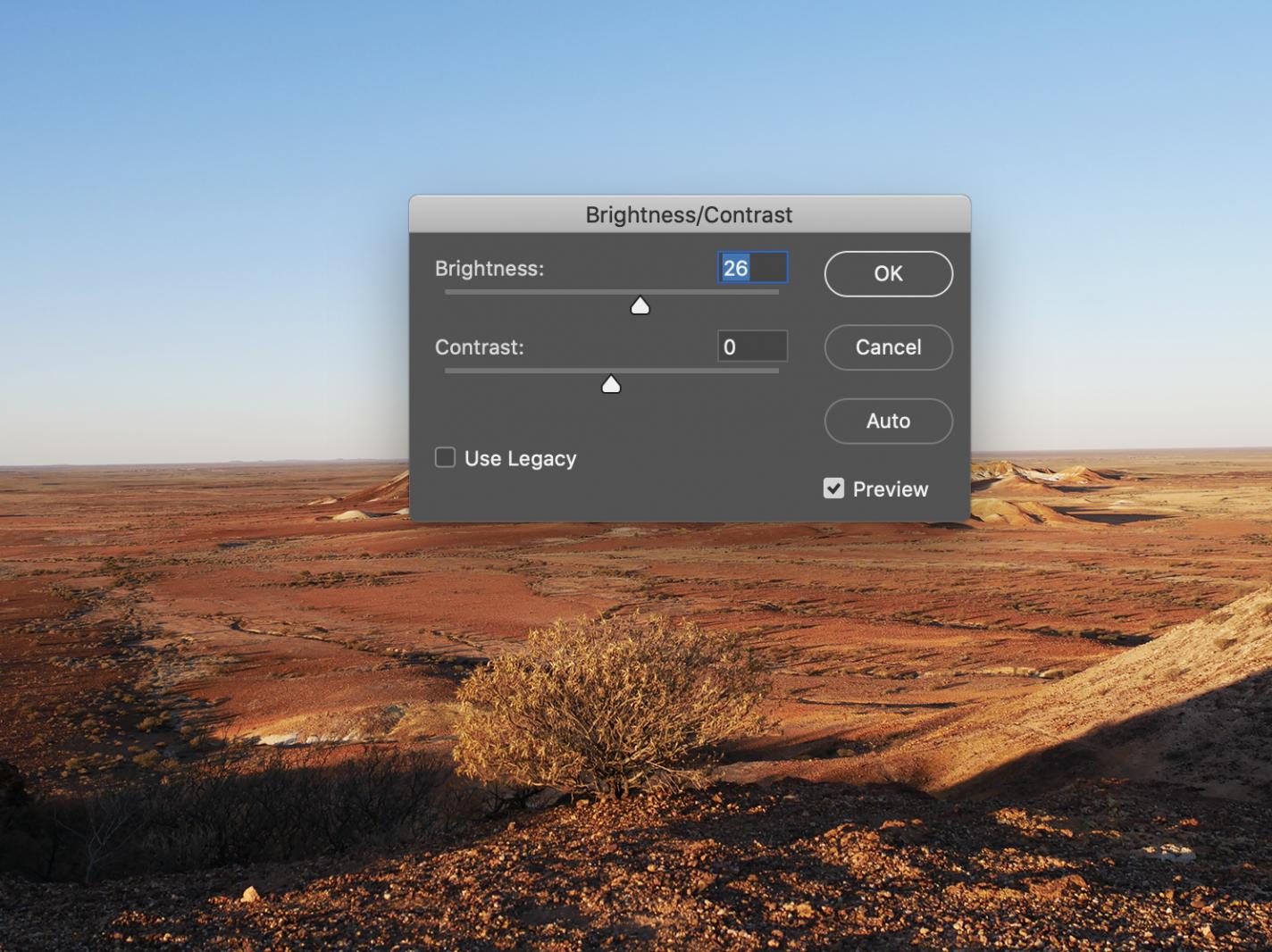 Foto bewerken in Photoshop: speel wat met brightness en contrast