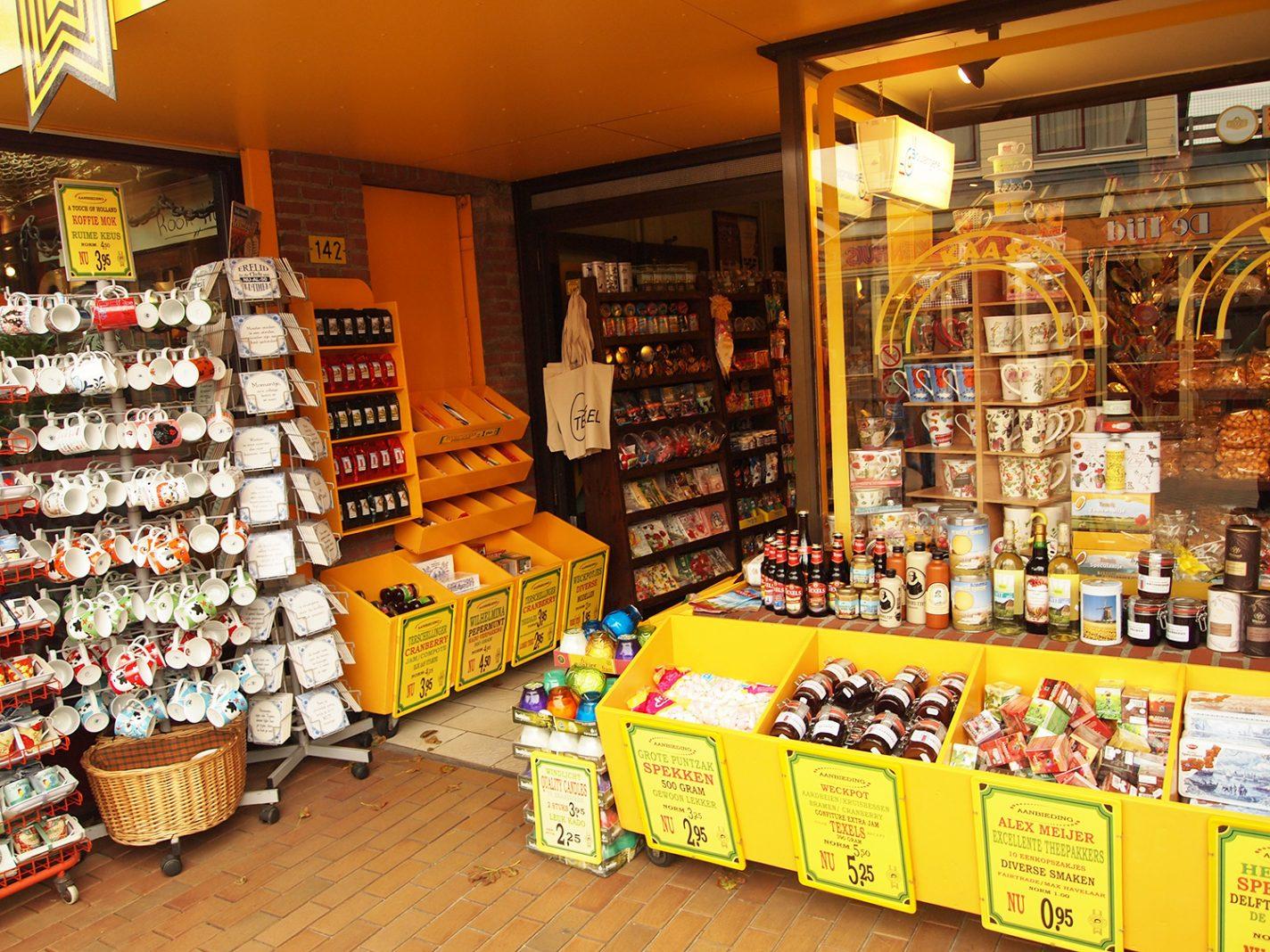 Souvenirs en lokale streekproducten - Waddeneilanden