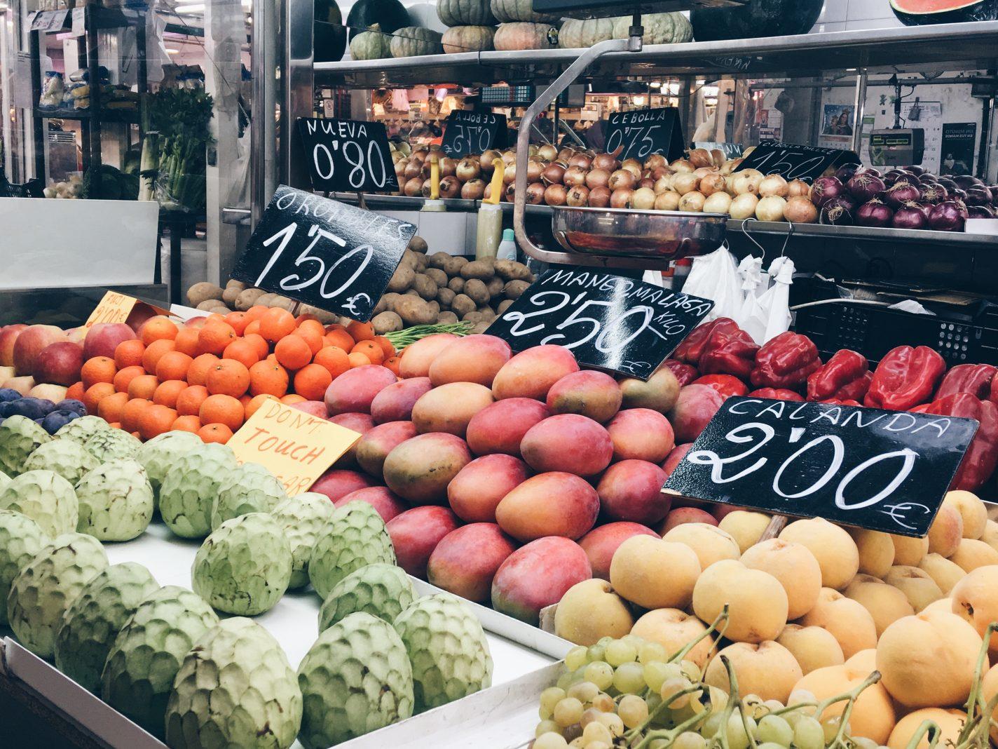 Markt in Valencia - things to do in Valencia