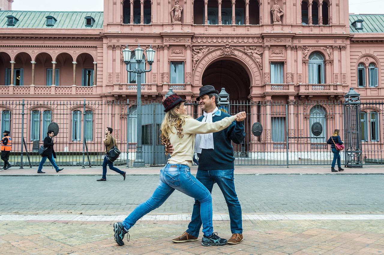 De Tango dansen in Argentinië