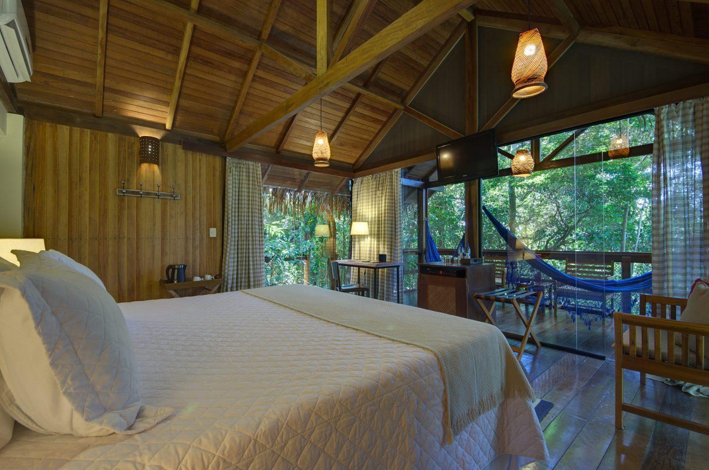 Anavilhanas Jungle Lodge Bungalow - unieke overnachtingen Brazilië