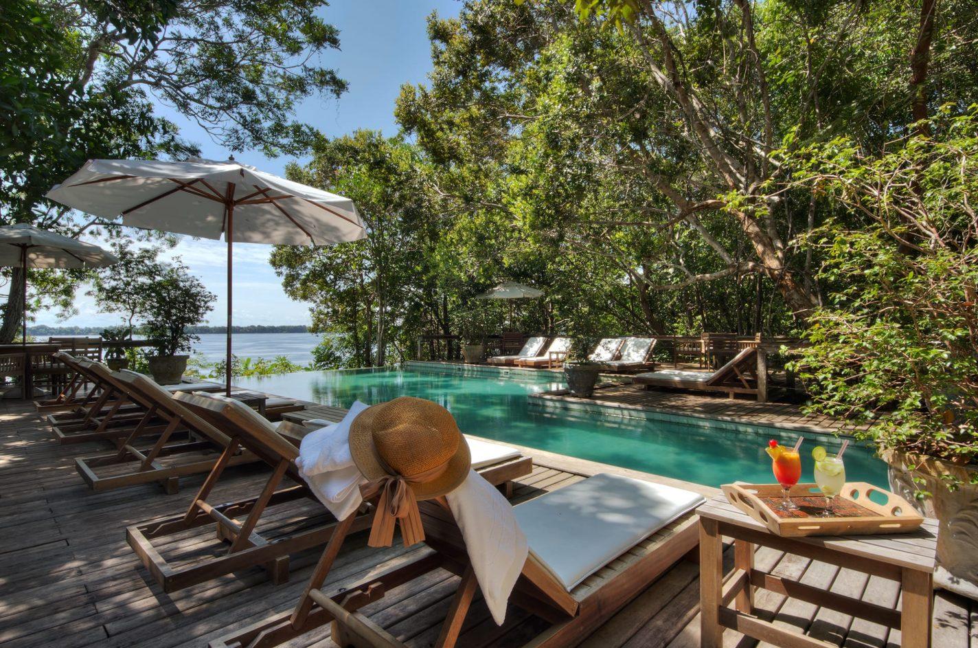 Anavilhanas Jungle Lodge Zwembad