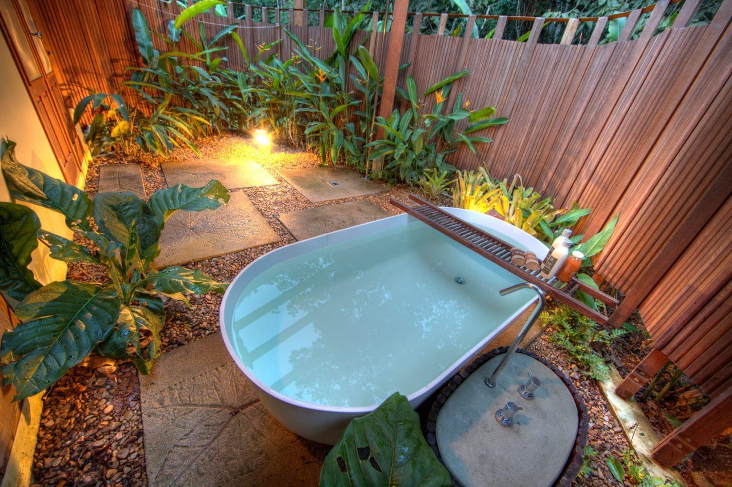 Cristalino Jungle Lodge Bungalow met hot tub - unieke overnachtingen Brazilië