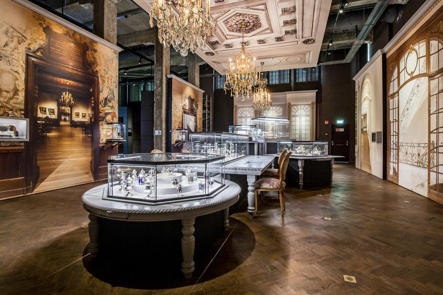 diamant- en zilvermuseum in Antwerpen