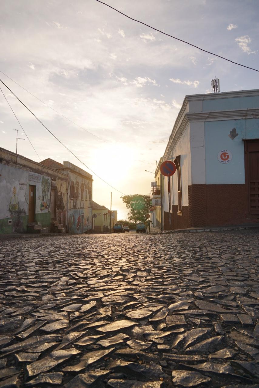 De mooie straten van São Felipe