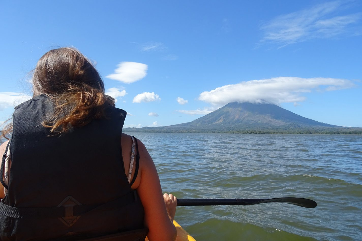 Kajakken bij Isla Ometepe
