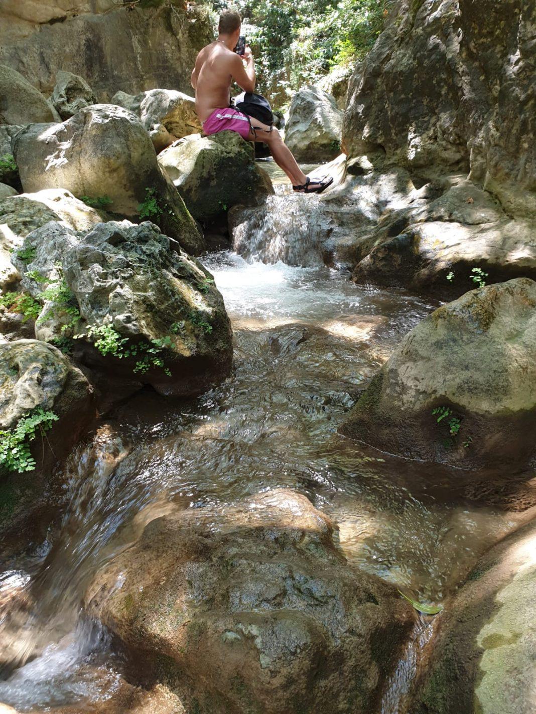 Wandeling naar de Potami Waterfalls - wat te doen op het Griekse eiland Samos