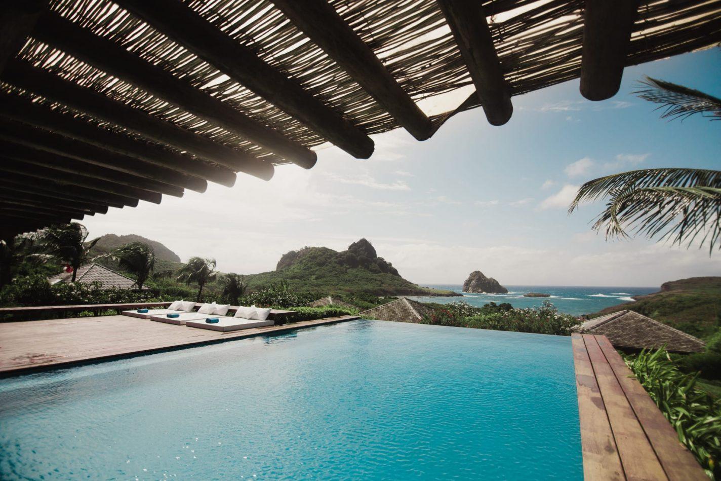 Pousada Maravilha uitzicht vanuit je kamer - unieke overnachtingen Brazilië