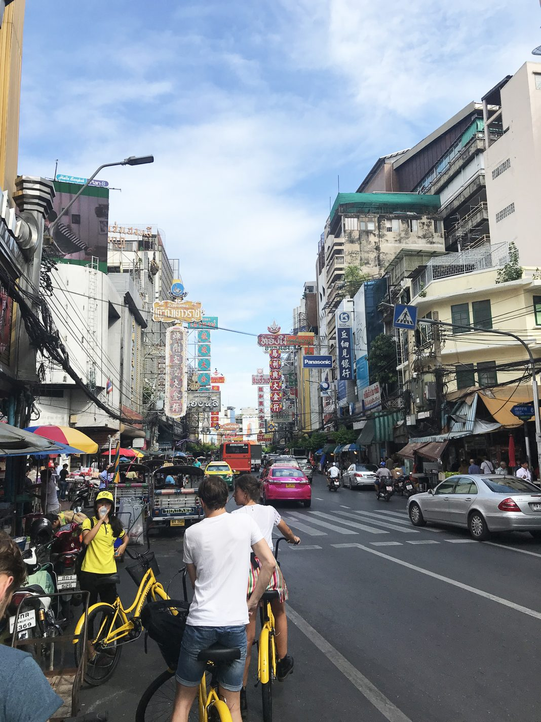 Een bruisende straat