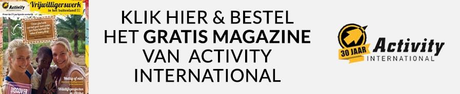 Gratis magazine Activity International