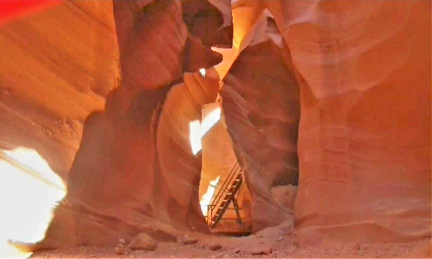 Antelope Canyon - Bestemmingen page Arizona & Kanab Utah