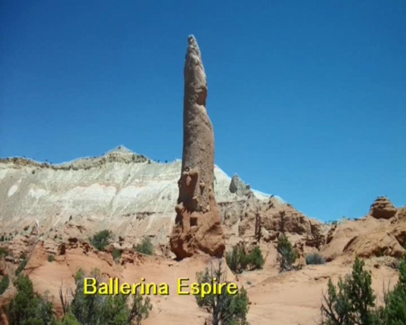 Ballerina Spire - Kodachrome Basin State Park - Bryce Canyon en omgeving