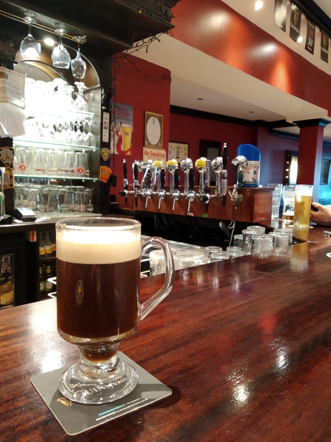 Tijd voor een heerlijke Irish Coffee