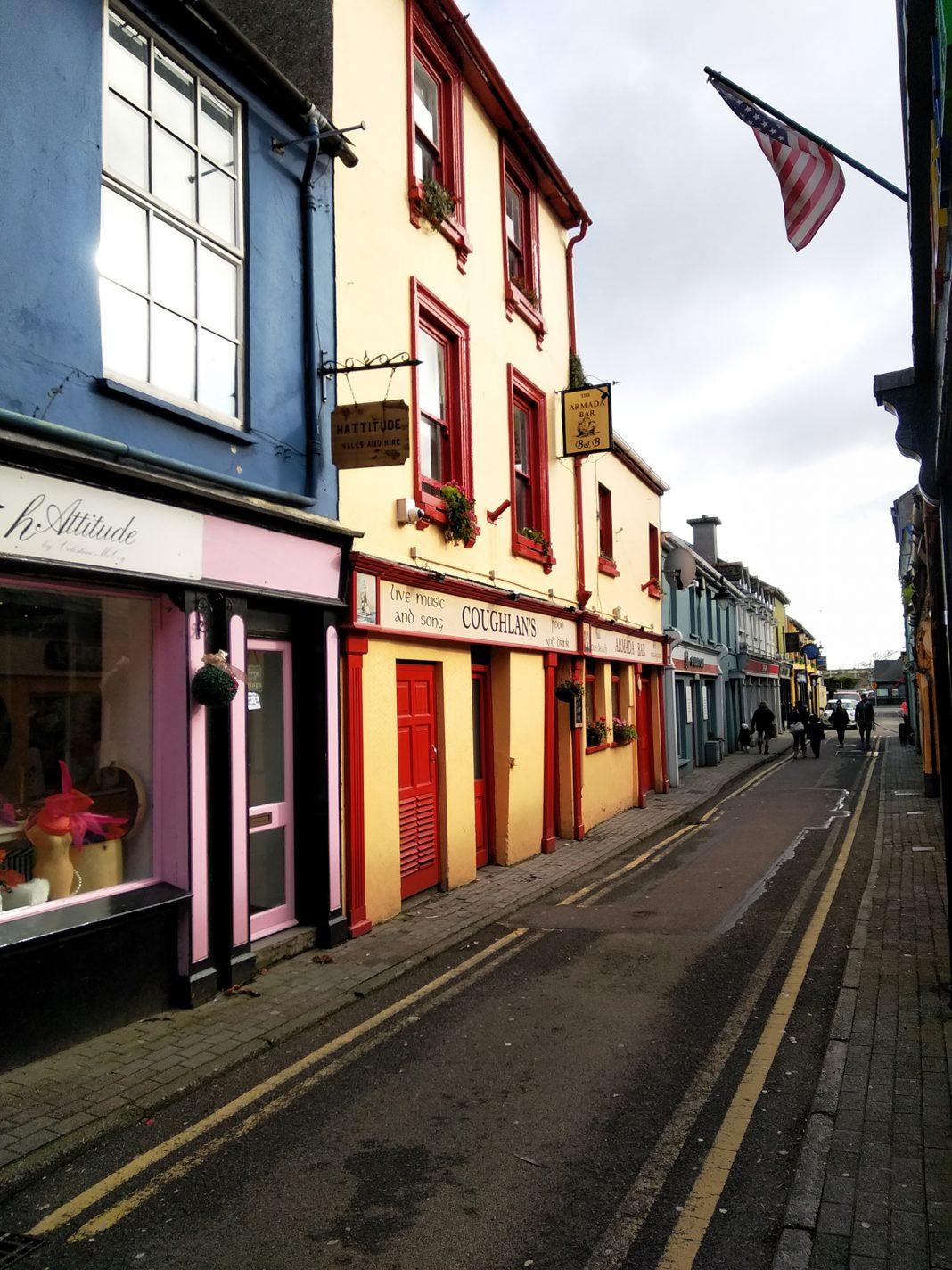 Kleurrijke straatjes van Kinsale