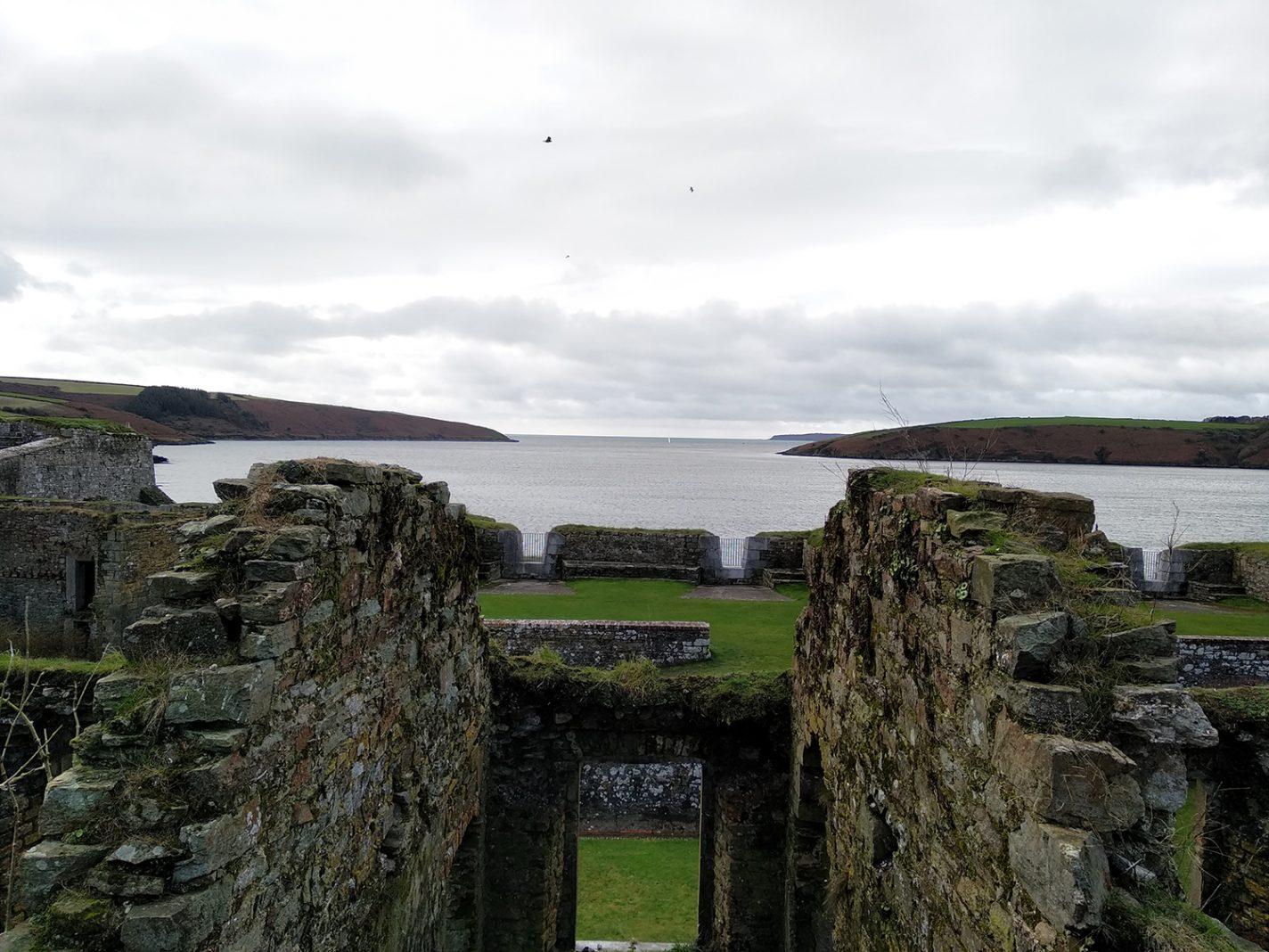Uitzicht vanuit het fort - Kinsale