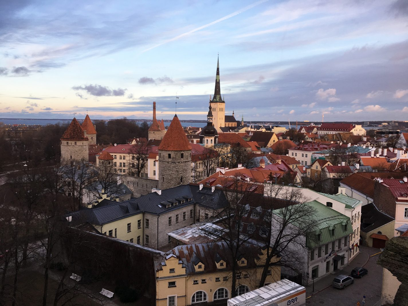 Het centrum van Tallinn