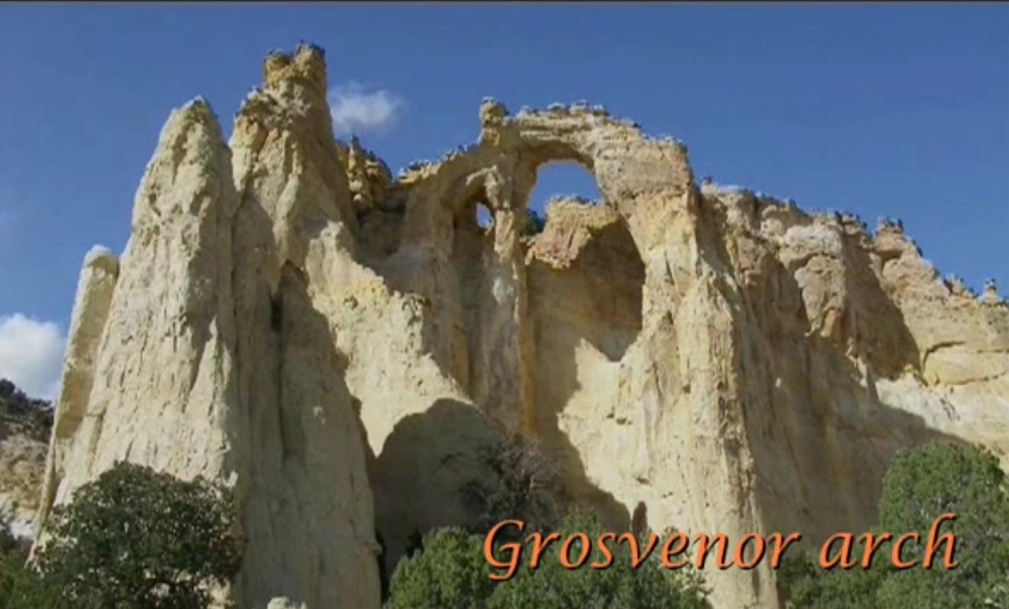 Grosvenor Arch - Bryce Canyon en omgeving