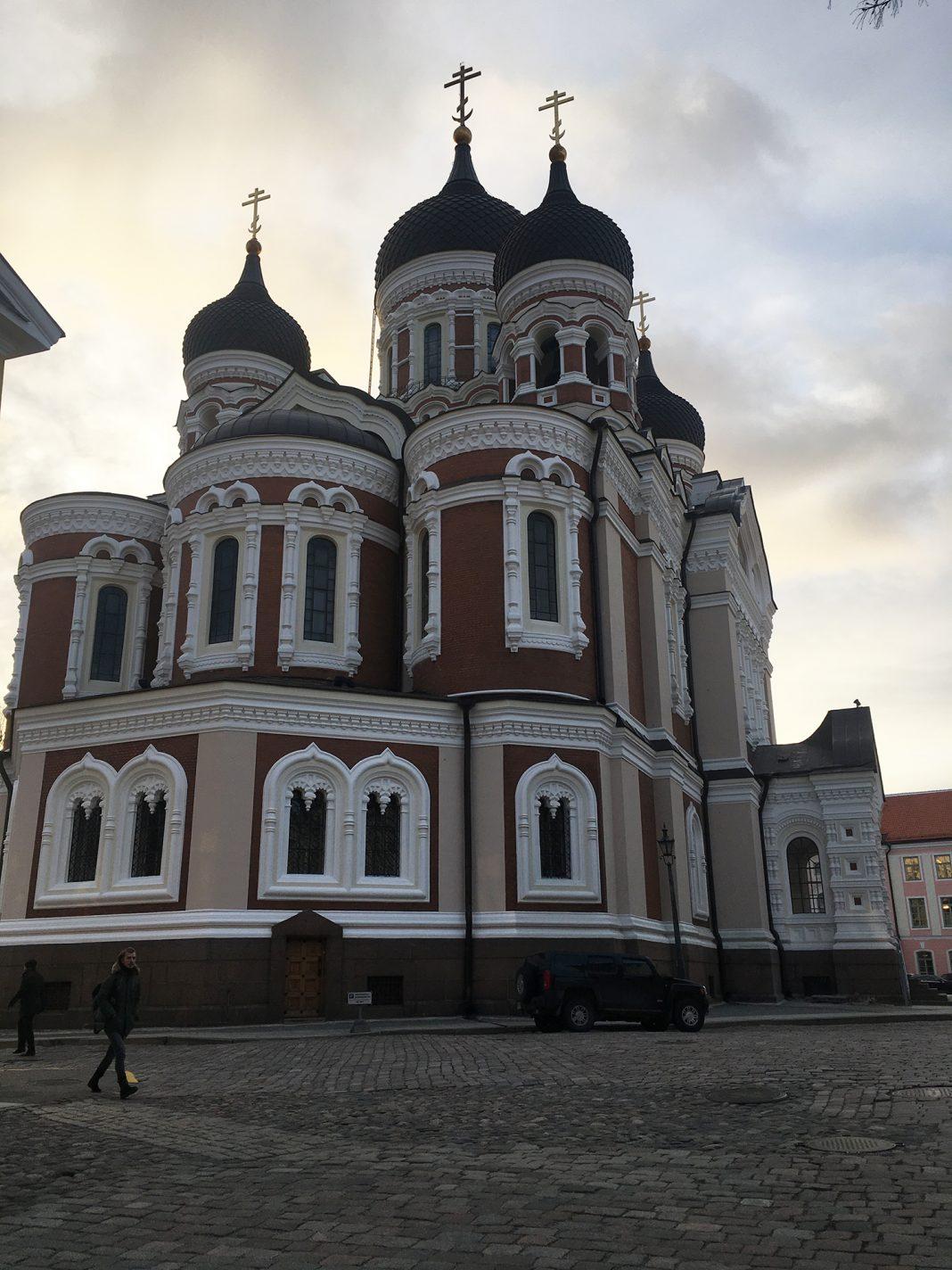 Alexander Nevski-kathedraal - Tallinn Estland