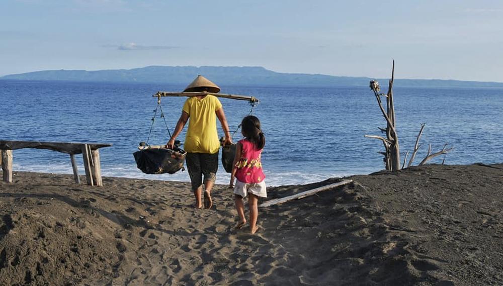 Tour door Oost-Bali