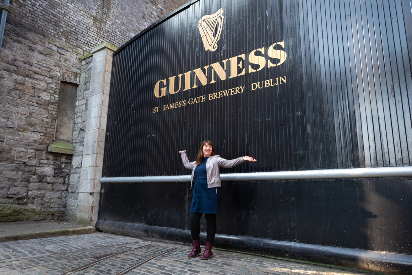 Cathelijne voor Guinness Storehouse