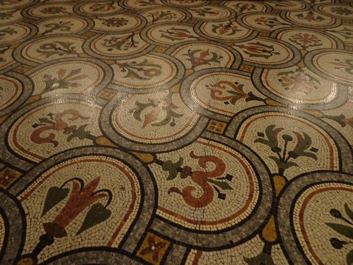 De bijzondere vloer in Palais Garnier