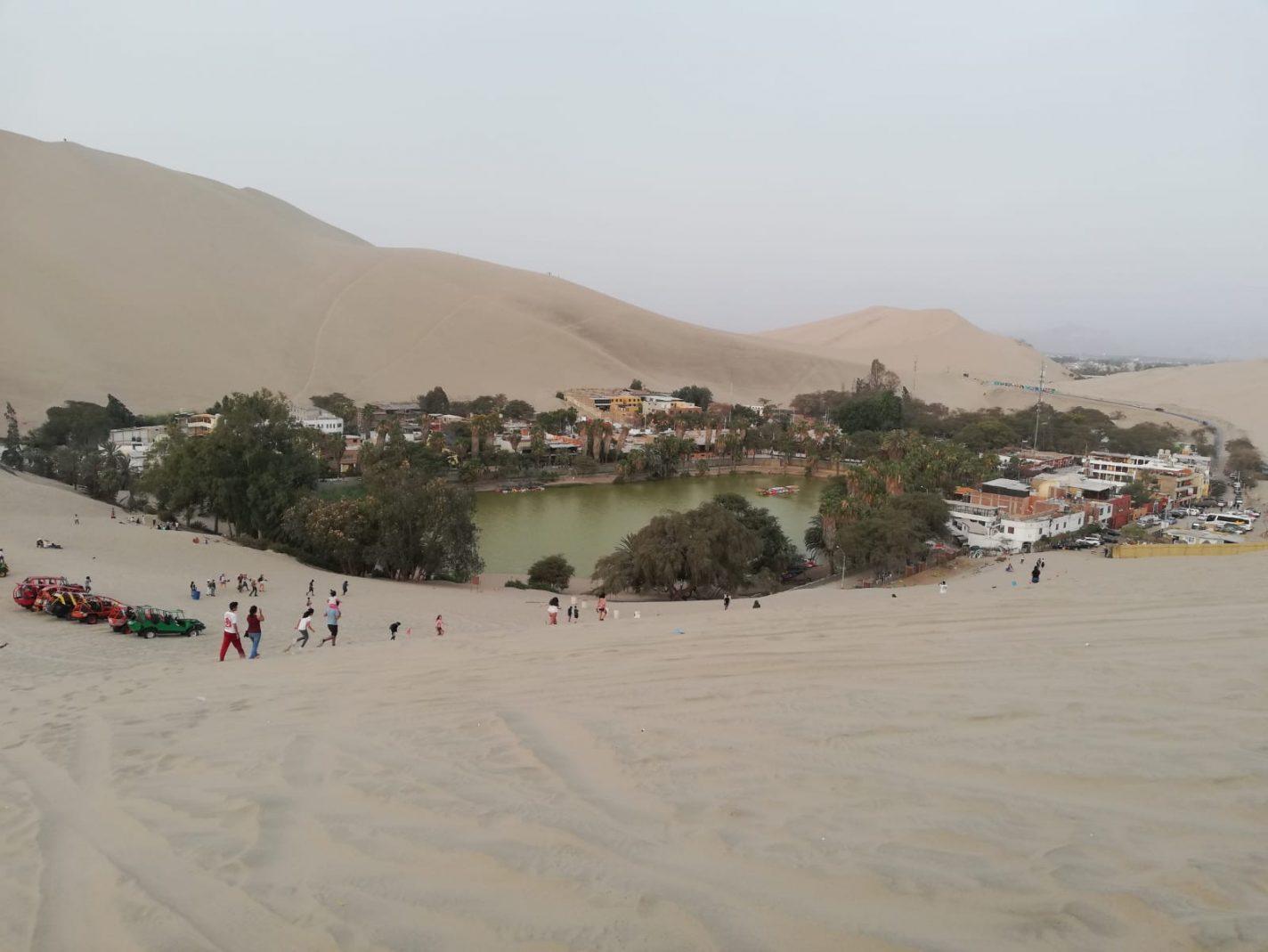 De oase van Huacachina - reisblog over Peru