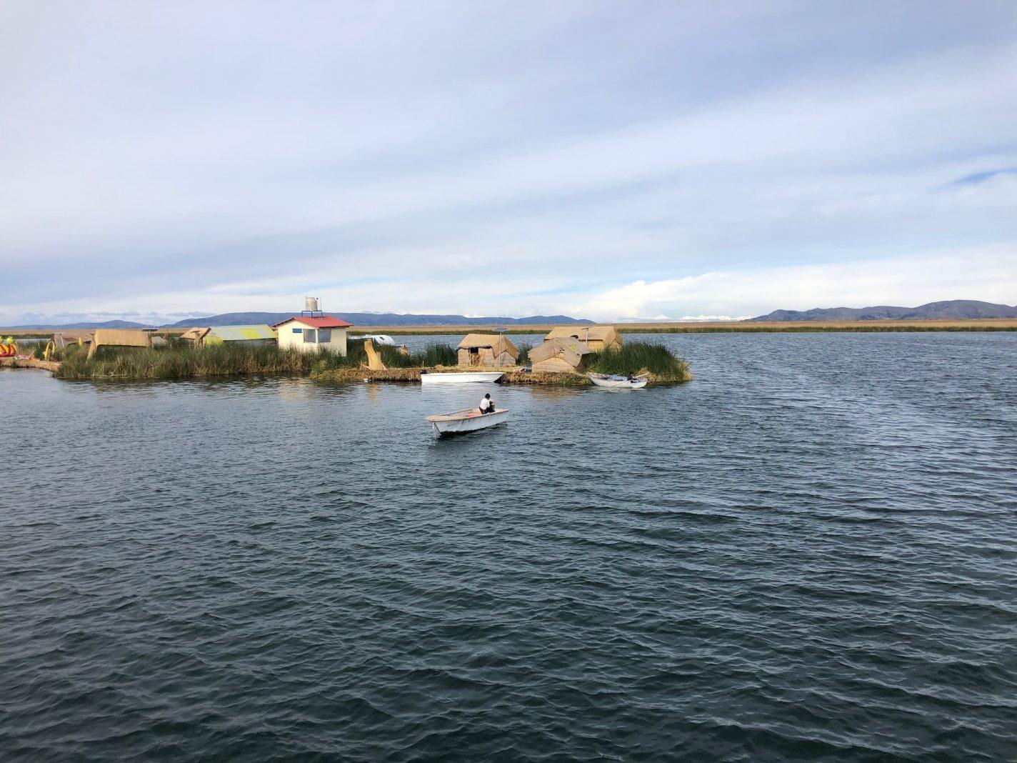 Drijvende eilanden Puno - Peru