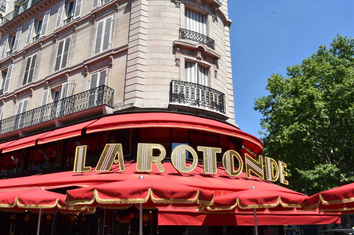 Het bekende La Rotonde