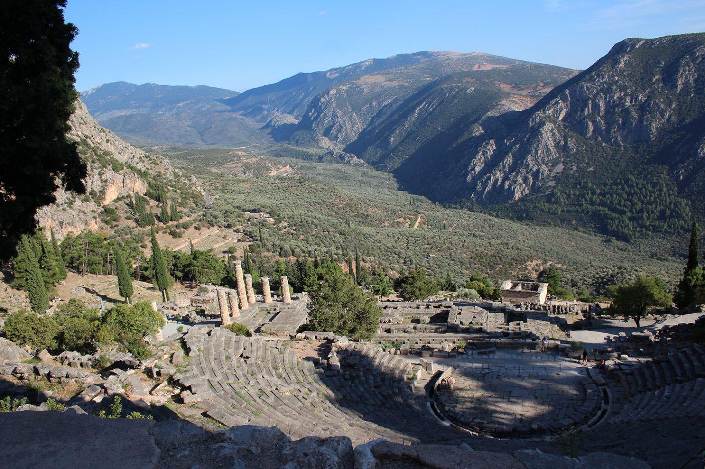 Ruig en historisch Delphi - reisbestemmingen 2021