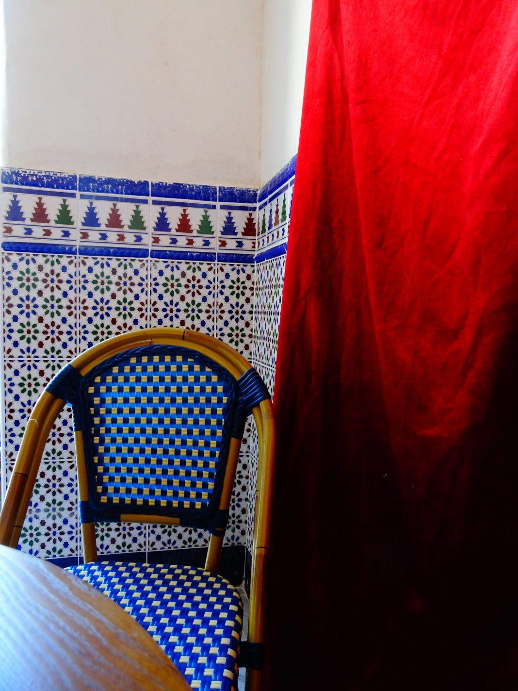 Terras tearoom van la Grande Mosquée de Paris - Parijs na de lockdown