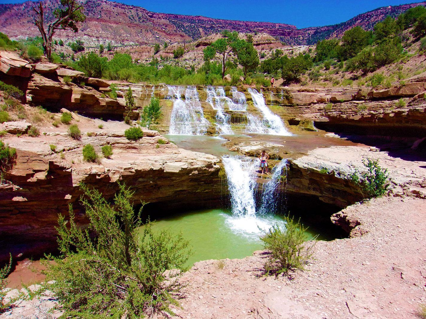 Toqerville Falls - Zion National Park en andere mooie plekken in omgeving