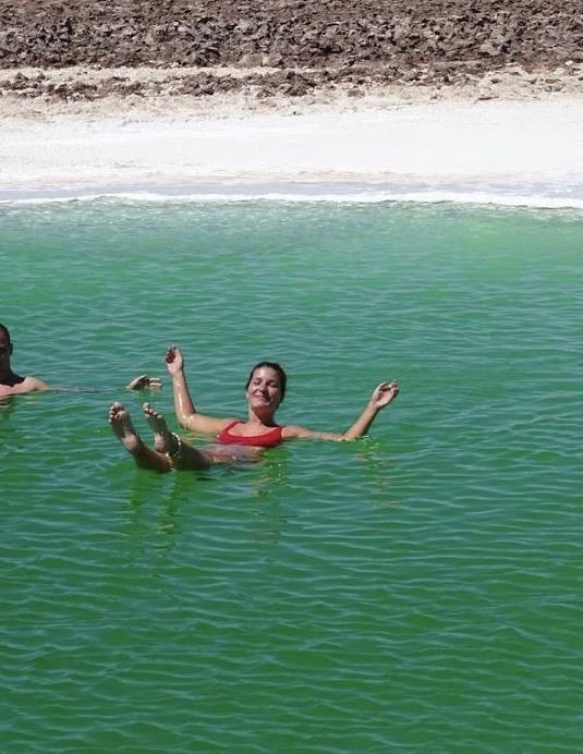Drijven op het water