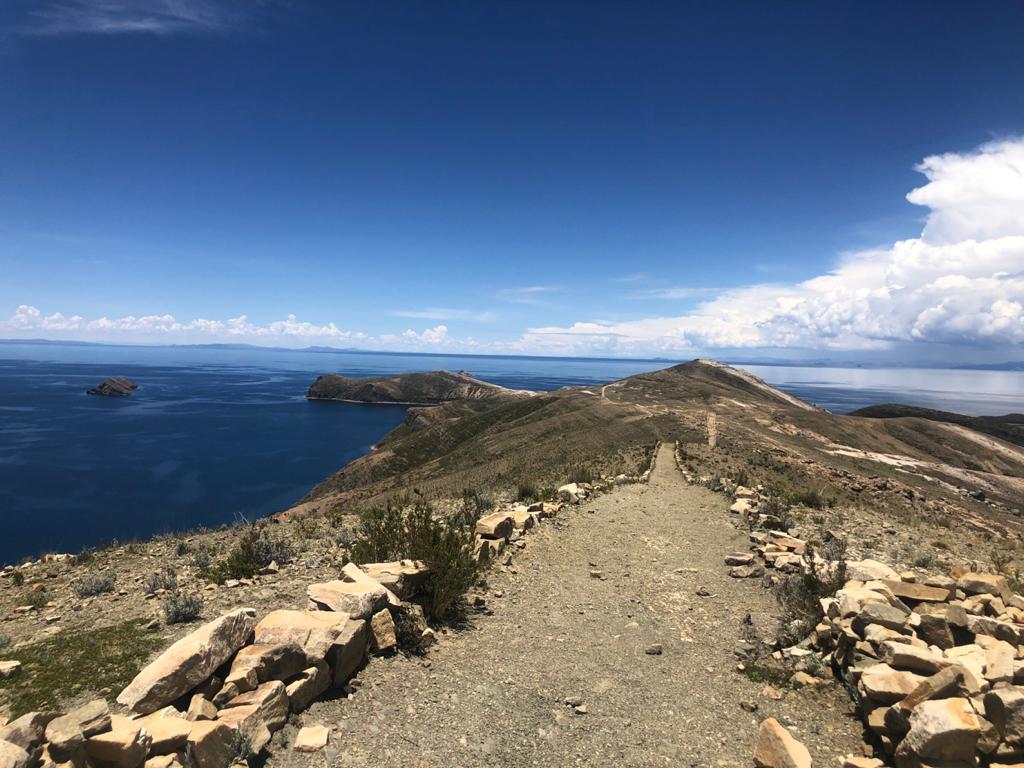 Isla del Sol - doen in Bolivia