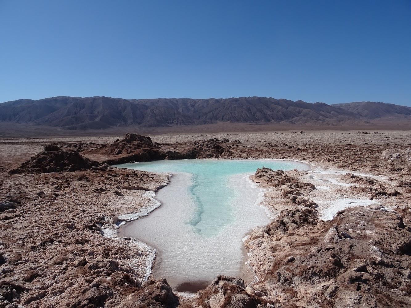 De maanvallei in Chili een indrukwekkend landschap