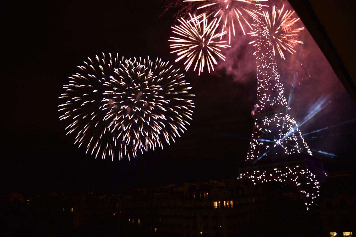 Nationale feestdag in Parijs