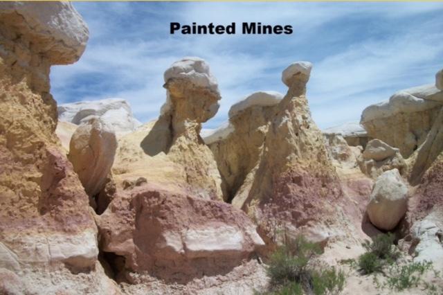 Painted Mines - Colorado