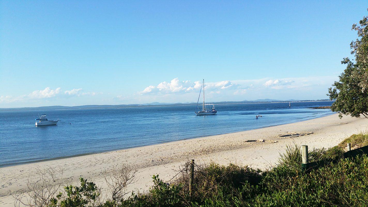 Het plaatsje Port Stephens - activiteiten in Australië