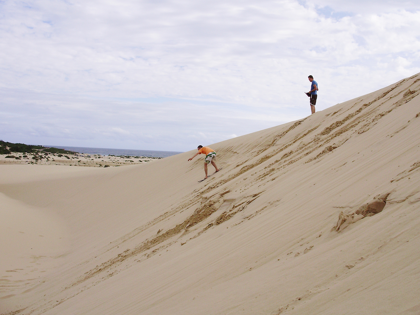 Sandboarden in Port Stephens - activiteiten in Australië