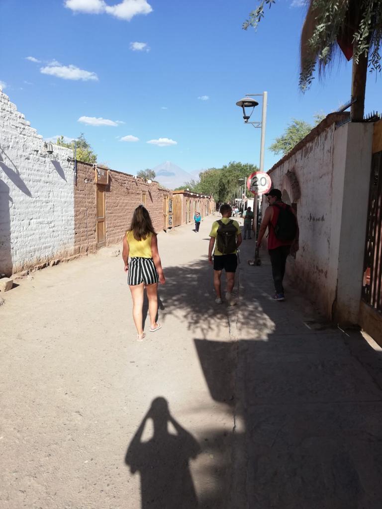 Straat van San Pedro de Atacama