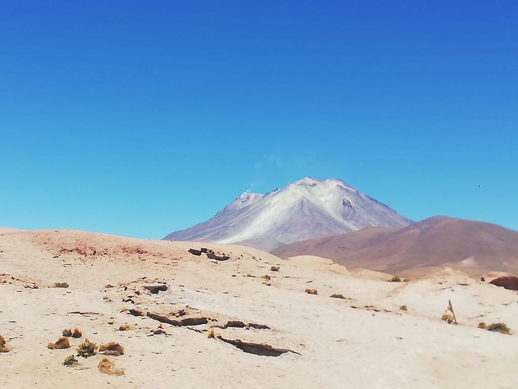 Vulkaanlandschap tijdens de zoutvlaktestour - doen in Bolivia
