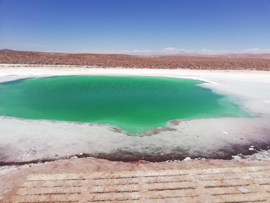 Het zoutmeer