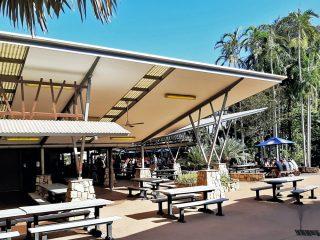 Cooinda Lodge Kakadu: slapen midden in de natuur!