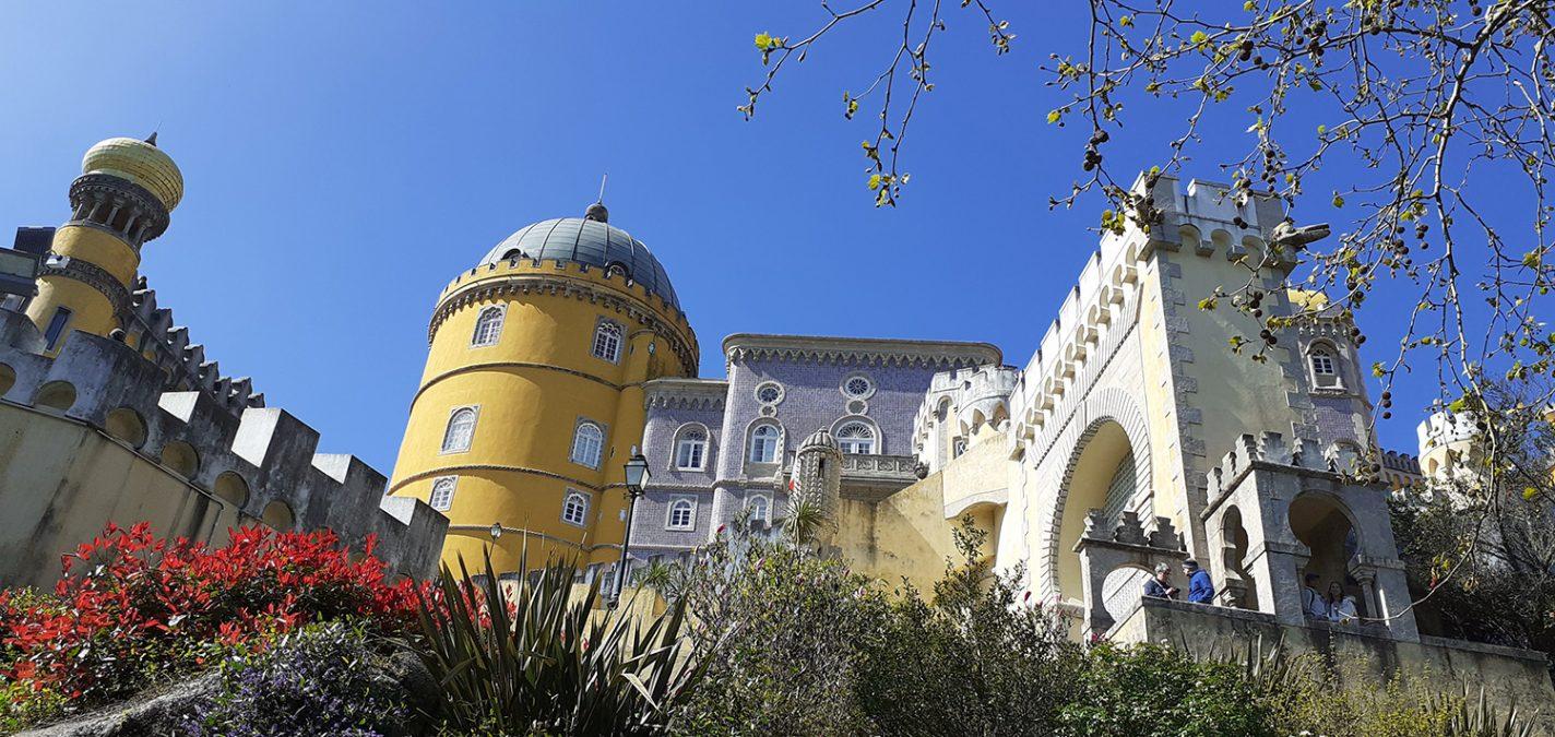 Palácio Nacional da Pena, een waar sprookjespaleis