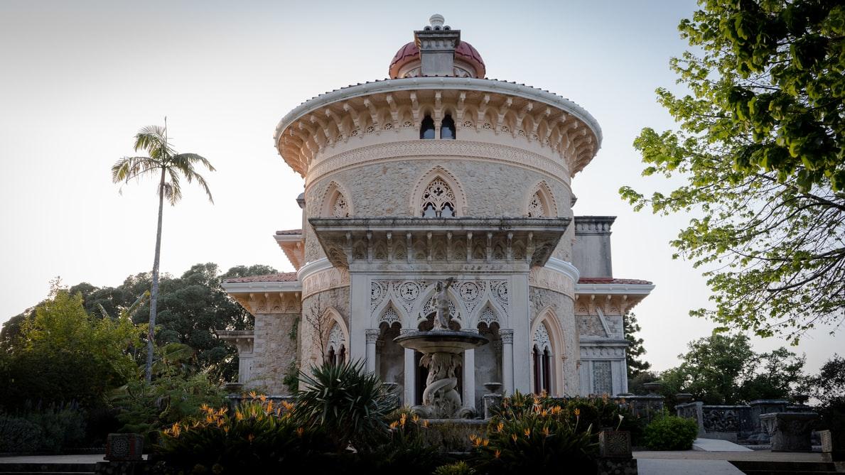 Oriëntaalse architectuur en exotische tuinen bij Palácio de Monserrate