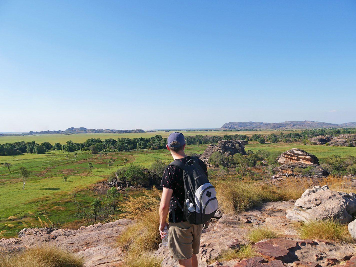 Bovenop de Ubirr Rock - Kakadu National Park
