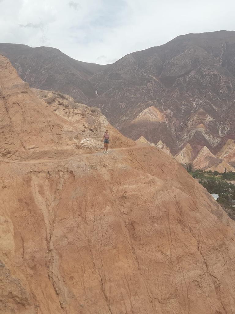 Uitzicht tijdens de rit naar Humahuaca